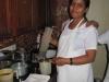 Kräuterküche...frisch zubereitet für die Behandlung...